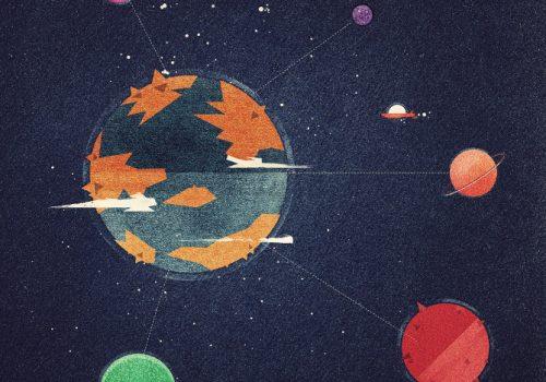 Circle Solar System